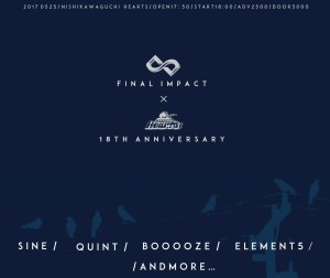 Hearts 18th Anniversary×FINAL INPACT