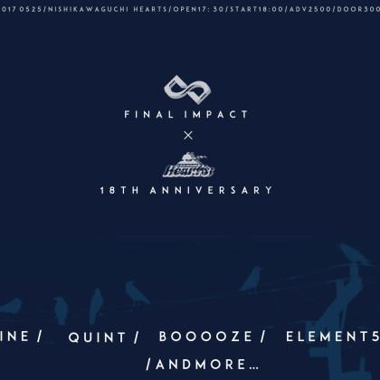Hearts 18th Anniversary×FINAL INPACT