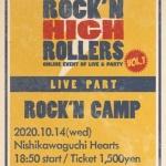 ROCK'N HIGH ROLLERS VOL.1 -LIVE PART- ROCK'N CAMP