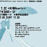 サテライタウン1st single「Parallel April 」発売記念レコ発企画『放課後ディレクション3』