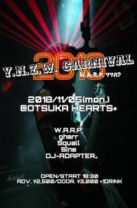 Y.N.Z.W. CARNIVAL 2018