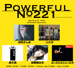 「Powerful No.221」